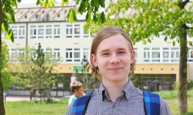 Интервью с учеником гимназии в Чехии