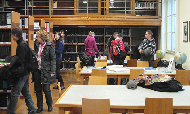 Библиотека Карлова университета — Образование в Чехии EuroEducation