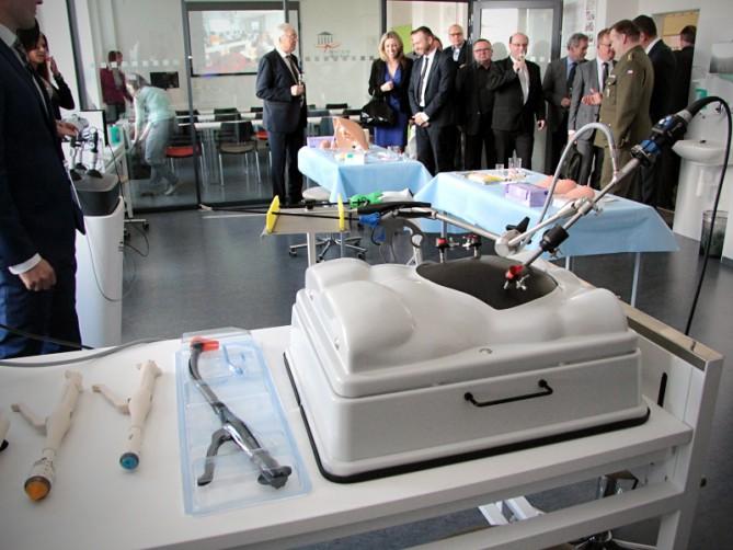 Новый учебный центр для студентов медицины