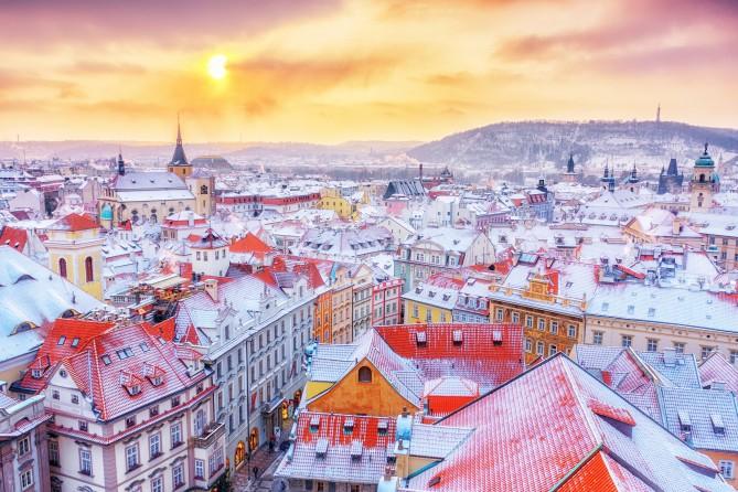 Уже есть планы на зимние каникулы? Приезжайте в зимний лагерь в Чехию!