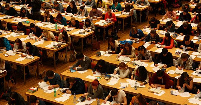 Вступительный экзамен в Чехии