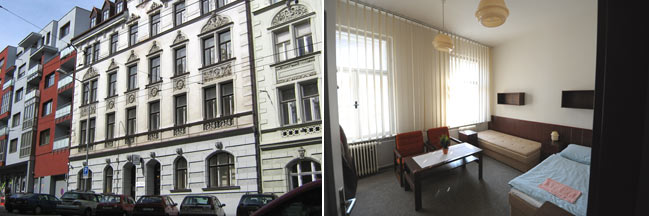 Accomodation in Brno