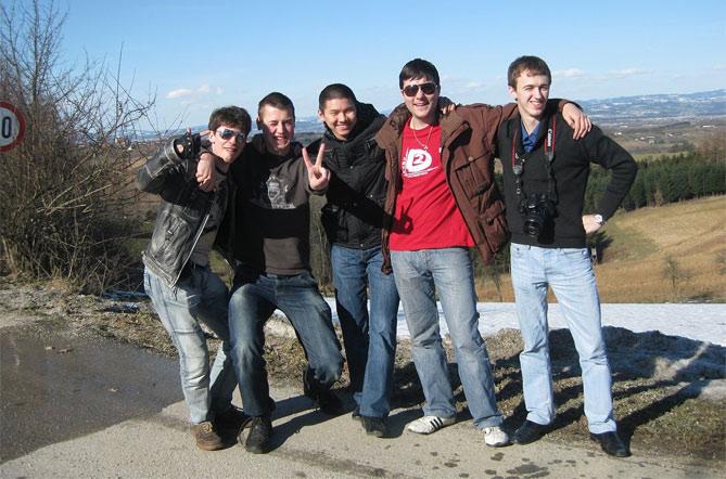 Студенты EuroEducation